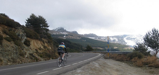 Cycling Pico de Veleta