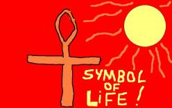 An Egyptian symbol.