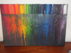 How to Create Your Own Melted Wax Crayon Art