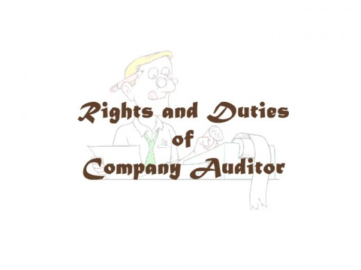 Rights And Duties Of Company Auditor | Toughnickel