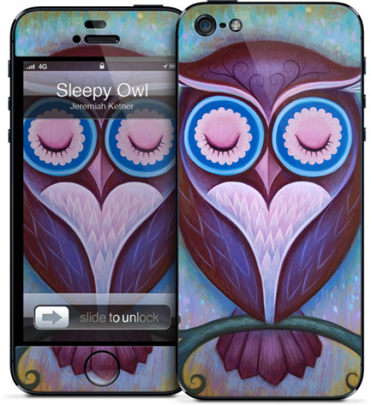 Sleeping Owl iPhone 5 Case