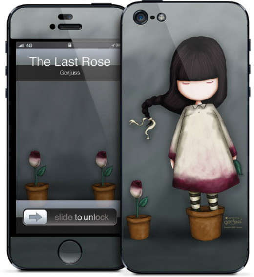 A creative iPhone 5 case for girls