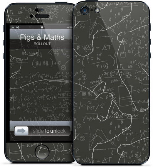 A geeky phone case for your Apple gadget