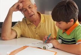 An elderly man can be a caring, male role model for a child to learn moral values as they grow up.