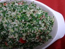 "Quinoa Salad Recipe: Tabouli the ""Super"" Salad"