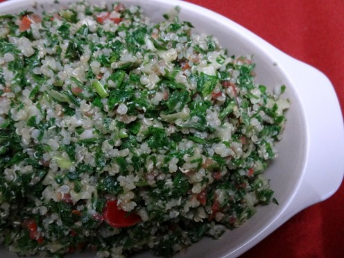 Authentic-Style Tabouli