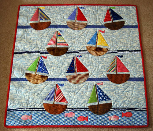 The Regatta Quilt Pattern
