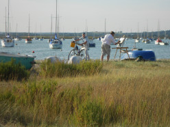 Visiting West Mersea, Essex