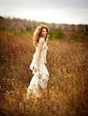 BRIDE IN A MEADOW REPRESENTS PURE ART TO ME.