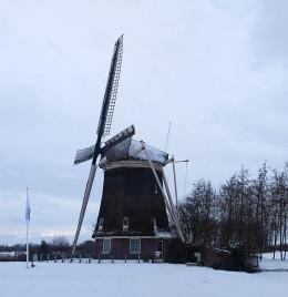 Dutch windmill built in 1757.
