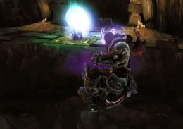 Darksiders 2 the Psychameron - solve the obstacles puzzles to delve deeper into this dungeon.