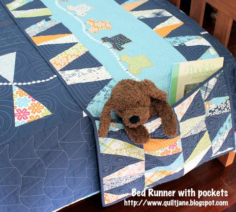 Children's Bed Runner & Matching Quilt