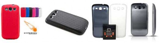 Cases compatible with QCell and Anker batteries for the S3