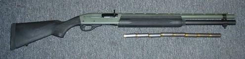 Remington 1100 Tactical Shotgun with 8 rounds in 12 gauge