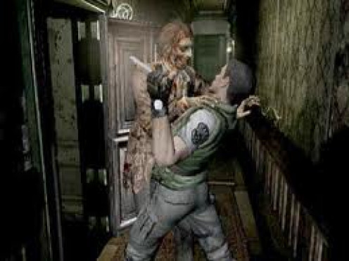 Resident Evil was a horror video game released for the Sony Playstation. It was a survival horror game featuring zombies and other gross creatures.
