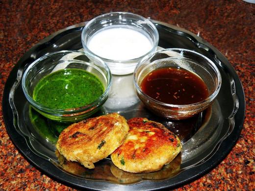 Street Food- Aloo Tikki