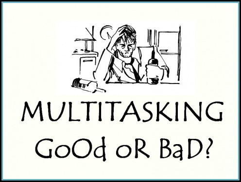 There are both good and downsides of multitasking. It is however better to maintain a certain balance between doing things. Only then a person can truly benefit from the art of multitasking.