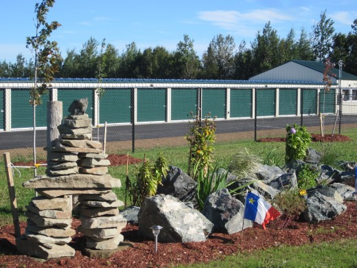 $250 worth of rocks well places will provide marketing for your facility everyday!