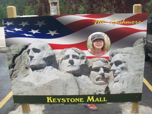 Photo op in Keystone. :)
