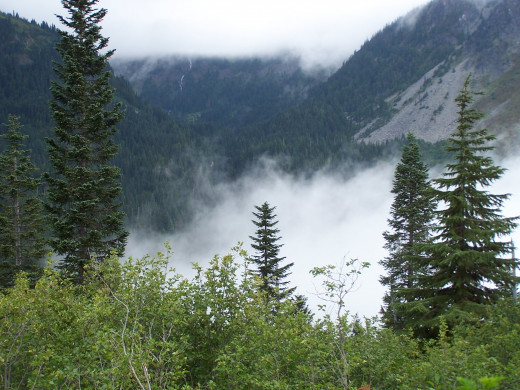 A hike in the Cascade Mountains