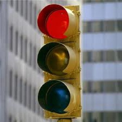 Traffic lights helped bring safety to the streets. Do not run red lights because, you may wreck or at the least get a ticket.