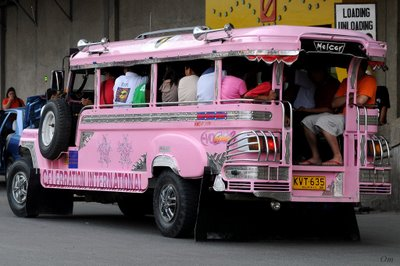 Jeepneys in Manila -most common public transportaion