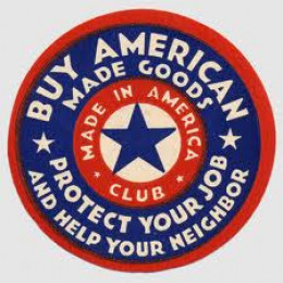"""I do not own this image.  It was obtained through a Google search using key words """"Buy American."""""""