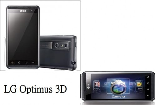 LG Optimus 3D - One of the best Android mobiles below 20000