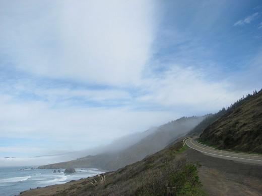 California's stunning northern coastline, this is near Fort Bragg.