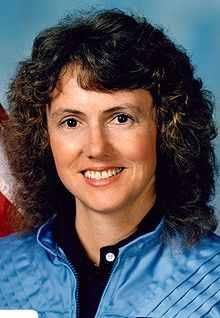 Sharon Christa Corrigan McAuliffe, Sept. 1985