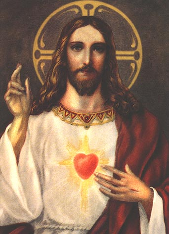 Sacred Heart of Jesus source: EWTN