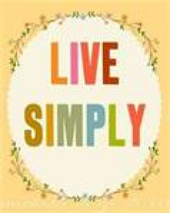 Five Ways to Live Simply