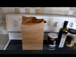 Make Homemade Microwave Popcorn in Three Easy Steps: Video Demonstration