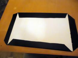 back side of foam board