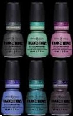 China Glaze Tranzitions Winter 2012 Nail Polish Collection
