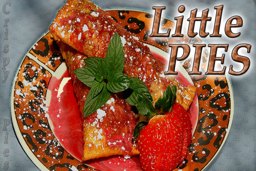 Little Strawberry Filled Pies