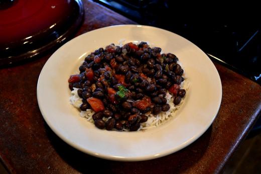 Black Bean Curry