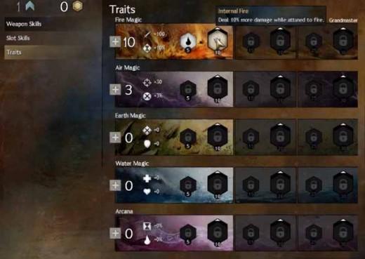 Guild Wars 2 Increase Traits