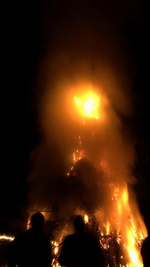 Burning of the Old Lady (Befana)