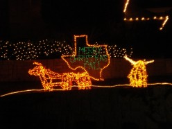 Christmas sights in Dallas, Texas