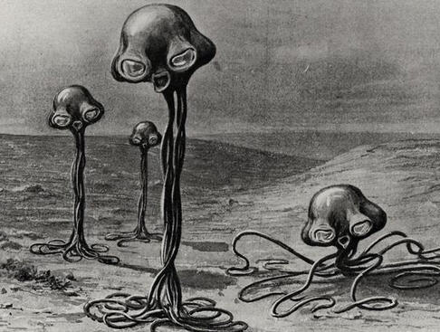 Martians from HG Wells