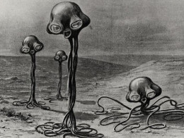 Martians from HG Wells
