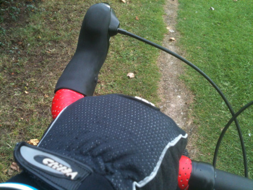 Winter cycling is a great opportunity to explore- If you can keep your hands warm!