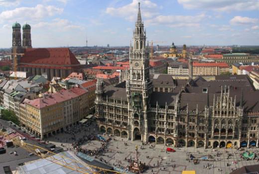 Fantastic architecture, Munich