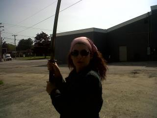 I wouldn't mind doing my own kill bill picture, still I'm a Jackie Chan girl.