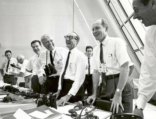 Apollo 11 Mission Officials, 1969