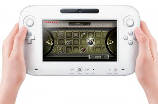 The Wii U GamePad tablet is included with the console