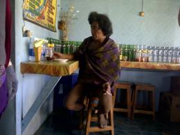 A Tenggerese, the Bromo local man.