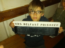 A young prisoner!
