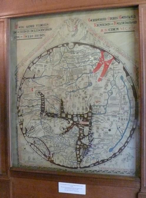 The Hereford Mappa Mundi